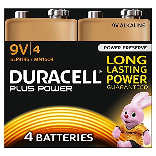 duracell-mn1604-plus-power-9v-batteries-pack-of-4