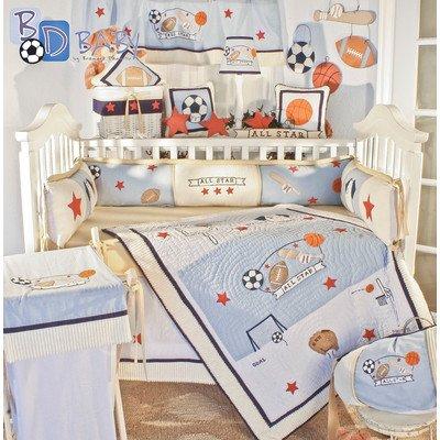 Brandee Danielle All Star Baby Bedding