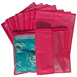 Non Woven Single Saree Covers - Set of 12