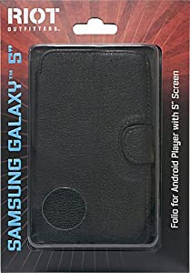 Samsung Galaxy 5.0 Android MP3 Player Folio Case (Fits 5-inch Samsung Galaxy Player Only)