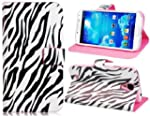 Zebra Print Faux Leather Flip Case fo...