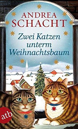Zwei-Katzen-unterm-Weihnachtsbaum