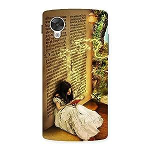 Delighted Secrate Book Multicolor Back Case Cover for Google Nexsus 5
