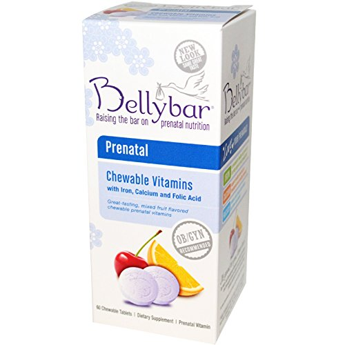 Bellybar-Prenatal-Chewable-Vitamins-Mixed-Fruit-Flavor-60-Chewable-Tablets