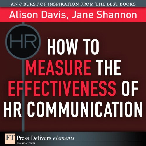 How To Measure The Effectiveness Of Hr Communication (Ft Press Delivers Elements)