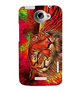 Bengal Tiger Panther Cheeta 3D Hard Polycarbonate Designer Back Case Cover for HTC One X