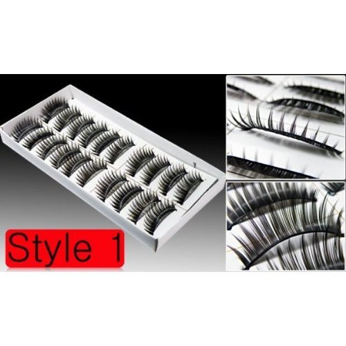 10 Pairs of Reusable Thick False Eyelashes