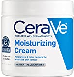 CeraVe Moisturizing Cream 16 oz Daily Face and Body Moisturizer for Dry Skin