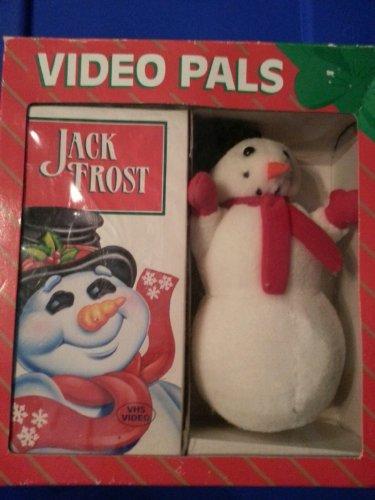 Vintage Video Pals Jack Frost Plush Bonus VHS Collectible 1993
