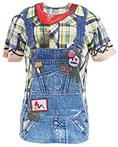 Faux Real Men's Hillbilly from Faux Real Mens Apparel child code