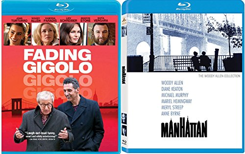 Manhattan + Fading Gigolo [Blu-ray] Woody Allen Classic movie Set