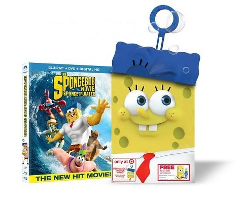 SpongeBob SquarePants: Sponge Out of Water - Collector's Edition w/ Bubble Wand (Blu-Ray + DVD + Digital HD) accept accept blind rage limited edition cd blu ray dvd 2 lp