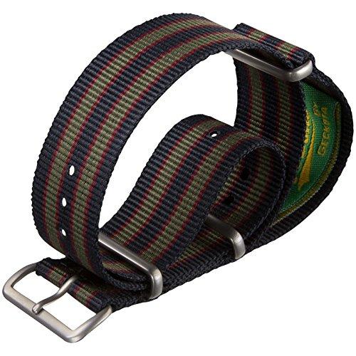 cinturino-orologio-vintage-bond-nylon-nato-striscia-di-verde-blu-rosso-scuro-18mm-raso