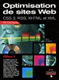echange, troc Éric Charton - Améliorer son site Web : CSS - RSS - XML 2 - XHTML (CD-Rom)