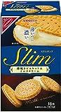 ナビスコ スリムサンド薄焼きビスケット&ミルククリーム 18枚×5箱