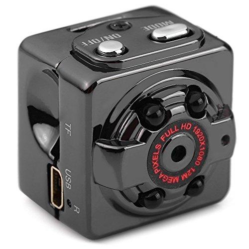 econoLED Mini Camera SQ8 Mini DV Camera 1080P Full HD Car DVR Recorder Motion Wireless Aluminum Video Camera (Grease 2 Vhs compare prices)