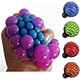 ZLTFashion Anti Stress Face Reliever Grape Ball Autism Mood Squeeze Relief Healthy Funny Tricky Toy Funny Geek...