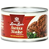 Loma Linda Swiss Stake with Gravy, 13-Ounce Cans (Pack of 12) ~ Loma Linda
