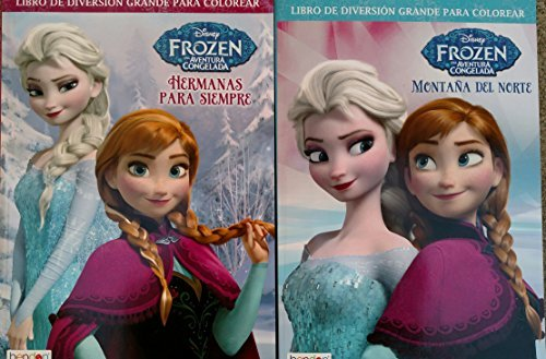 Disney Frozen Libro de Diversion Grande Para Colorear (Disney Frozen Spanish, Assorted, Quantities & Designs Vary) - 1