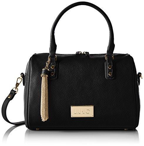 LIU JO MINORCA BOSTON BAG A66077E0086-22222 Black