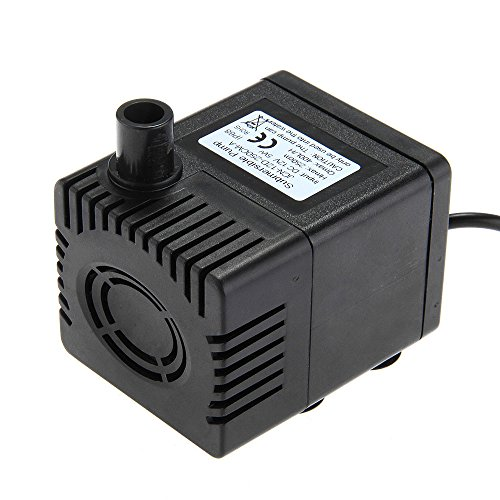 Solar Power Brushless Dc 12V 5W Water Pump For Fountain