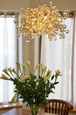 Modern Chandeliers Dining Room Chandeliers Transparent Bubble Chandelier