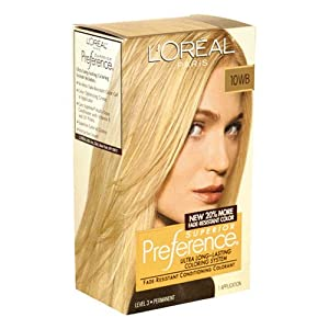 Amazon.com : Preference Extra Light Ash Blonde : Chemical Hair Dyes