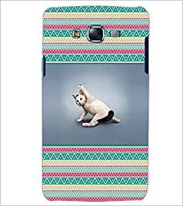 PrintDhaba Cat D-2611 Back Case Cover for SAMSUNG GALAXY J5 (Multi-Coloured)