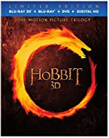 Hobbit, The: Motion Picture 3D Blu-Ray Trilogy from New Line Home Video
