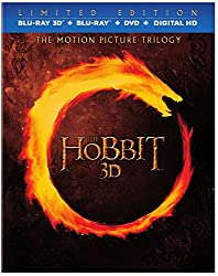 The Hobbit: Motion Picture Trilogy (Limited Edition Blu-ray 3D + Blu-ray + DVD + Digital HD)