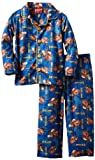Disney Little Boys' Here Comes Matter Long Sleeve Pajama Set