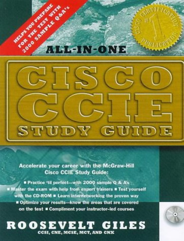 CISCO CCIE Exam Guide: 2000 Questions and Answers to Help You Pass the Test the First Time (Career ++ certification)