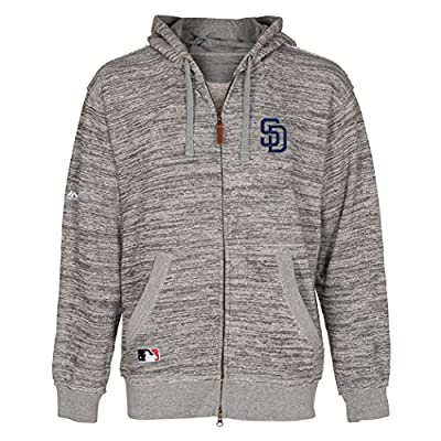 San Diego Padres 2015 Authentic Collection Clubhouse Full Zip Hoodie