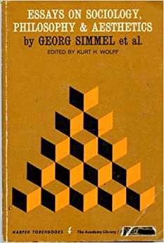 simmel essays on interpretation in social science Science essays: georg simmel when simmel discusses social it is simmel's attempt to integrate analysis of individual action with the structural.