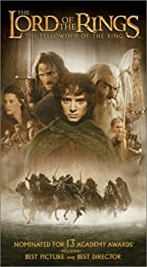 The Lord of the Rings - The Fellowship of the Ring [VHS]
