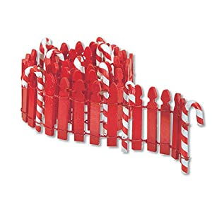 #!Cheap Department 56 Original Snow Village 24-Inch Candy Cane Fence