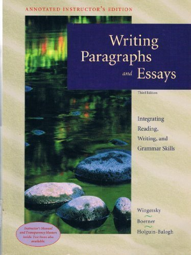 Essay Writing - Essays - Paragraph - Scribd