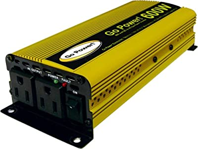 Go Power! GP-600 Modified Sine Wave Inverter, 600W