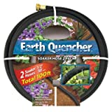 "Earth Quencher 2 Pack - Two 50' for a total of 100 Feet by 1/2"" Soaker Hoses"