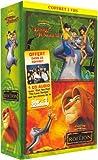 echange, troc Le Roi Lion / Le Livre de la Jungle 2 - Bipack 2 VHS [Inclus le CD audio Can You Feel - Star Academy 3]