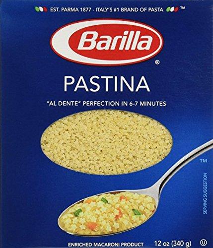 Barilla Pastina Pasta 12 Oz Pack of 2 (Round Pasta Noodles compare prices)