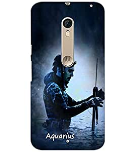 PrintDhaba SUNSIGN D-6210 Back Case Cover for MOTOROLA MOTO X STYLE (Multi-Coloured)