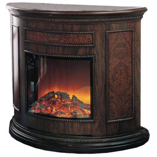 Yosemite Home Decor Df-Efp180 Standing Electric Fireplace, Brown