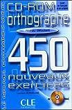 echange, troc Laurent Hermeline - 450 nouveaux exercices orthographe Niveau débutant : CD-ROM