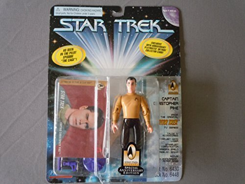 "4.5"" Captain Christopher Pike As Seen in the Pilot Episode ""The Cage"" - Star Trek: The Original Series - 1"