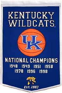 NCAA Kentucky Wildcats Dynasty Banner by Winning Streak