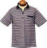 マクレガー 半袖ポロシャツ(吸汗速乾キングサイズ) メンズ 112624305 ネイビー 3L