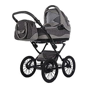 knorr-baby 2050-5 Imperio Kombikinderwagen, grau