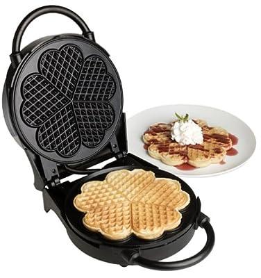 VillaWare V3100 Classic Waffler Heart Shaped from Villaware
