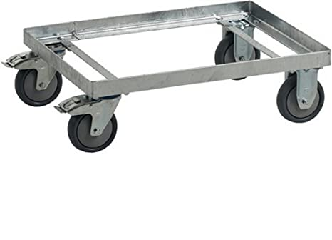 Telaio F㠌 R trasporto vassoio 400L zincati rettangolare